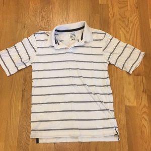 Boys Size 10/12 White Polo Style Shirt